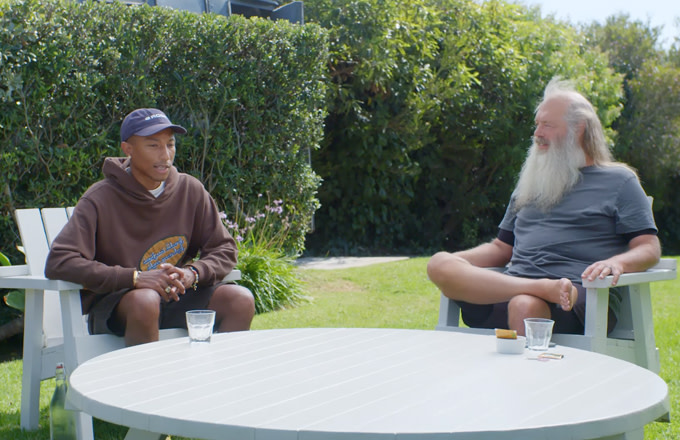 "Rick Rubin and Pharrell Talk ""Blurred Lines"" Copyright Lawsuit"
