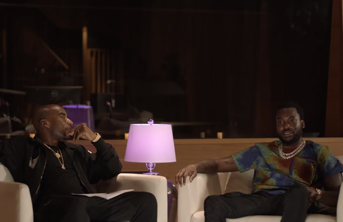 Meek Mill Talks Growth, Nipsey Hussle, and Drug Use With Charlamagne tha God