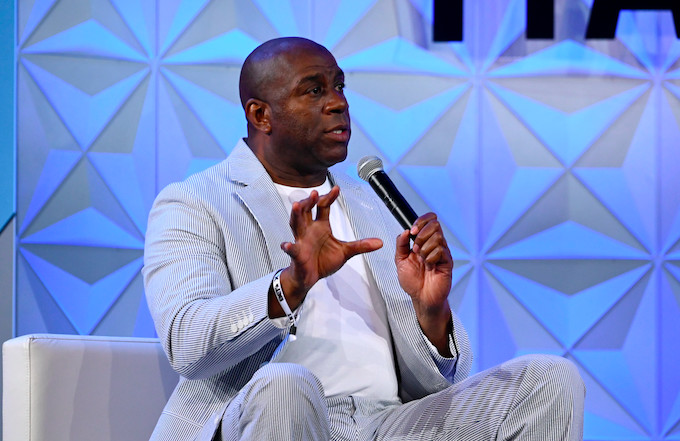Magic Johnson Gives His Take on LeBron James, Anthony Davis, and the 2020 Lakers