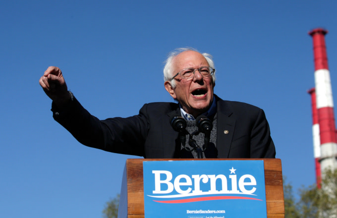 Bernie Sanders Tells Student to Respect Police to Avoid Being 'Shot in the Back of the Head'