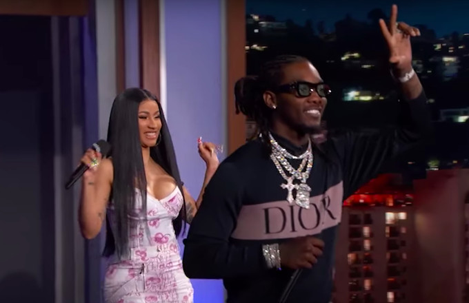 "Watch Jimmy Kimmel Translate Offset and Cardi B's ""Clout"""