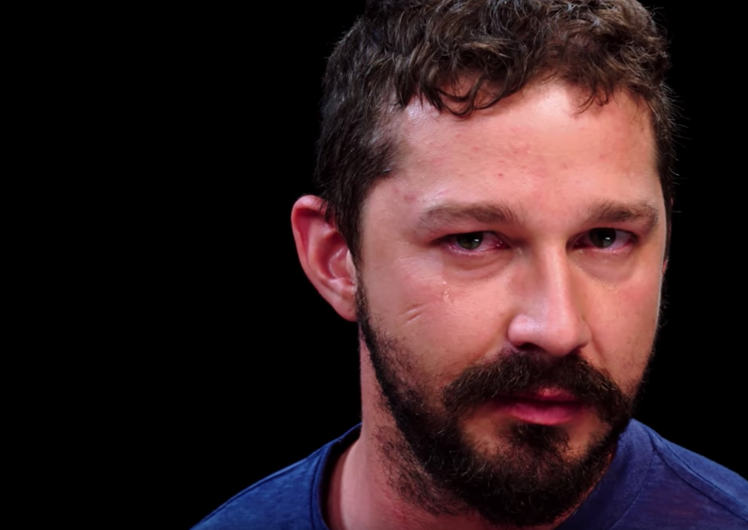Shia LaBeouf Tells the Real Tom Hardy Knockout Story on 'Hot Ones'
