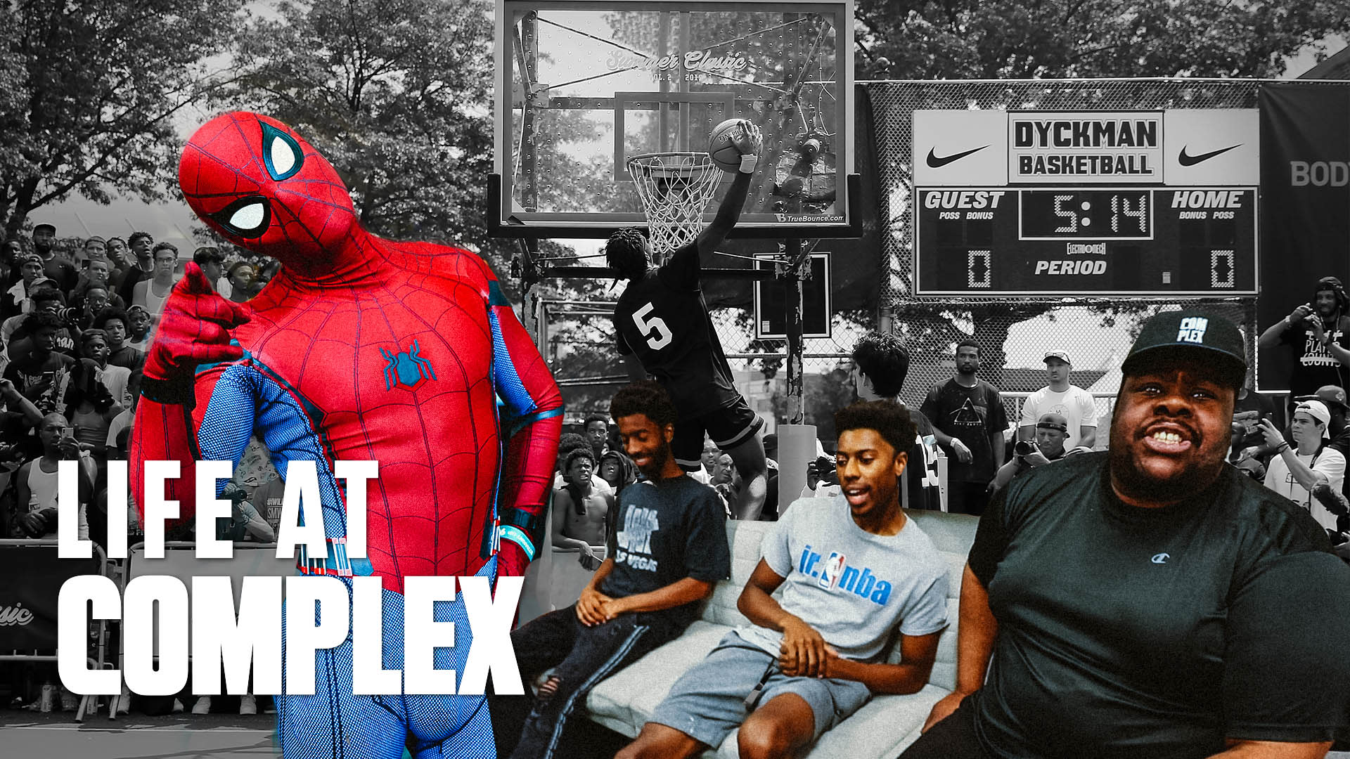 Spiderman Hoops At Dyckman Park... | Life At Complex