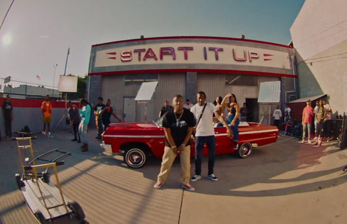 "Premiere: Hit-Boy and B. CaRR Link Up for ""Start It Up"" Video"