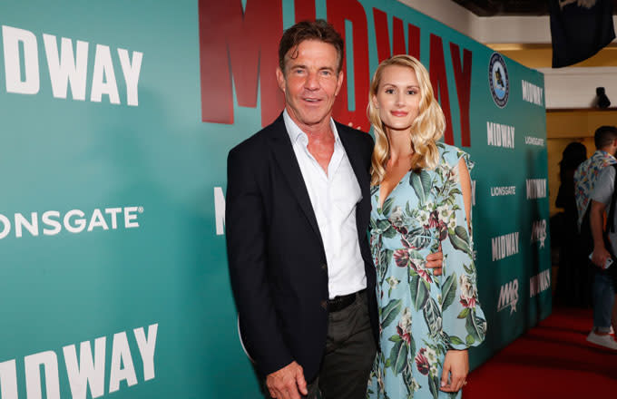 65-Year-Old Dennis Quaid Gets Engaged to 26-Year-Old Ph.D. Student