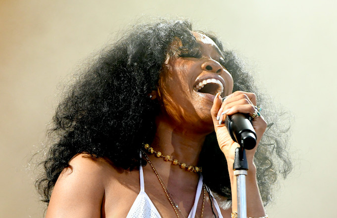 SZA Explains Why She Doesn't Recognize Herself in Joint Tracks With Cardi B, Rihanna, and More