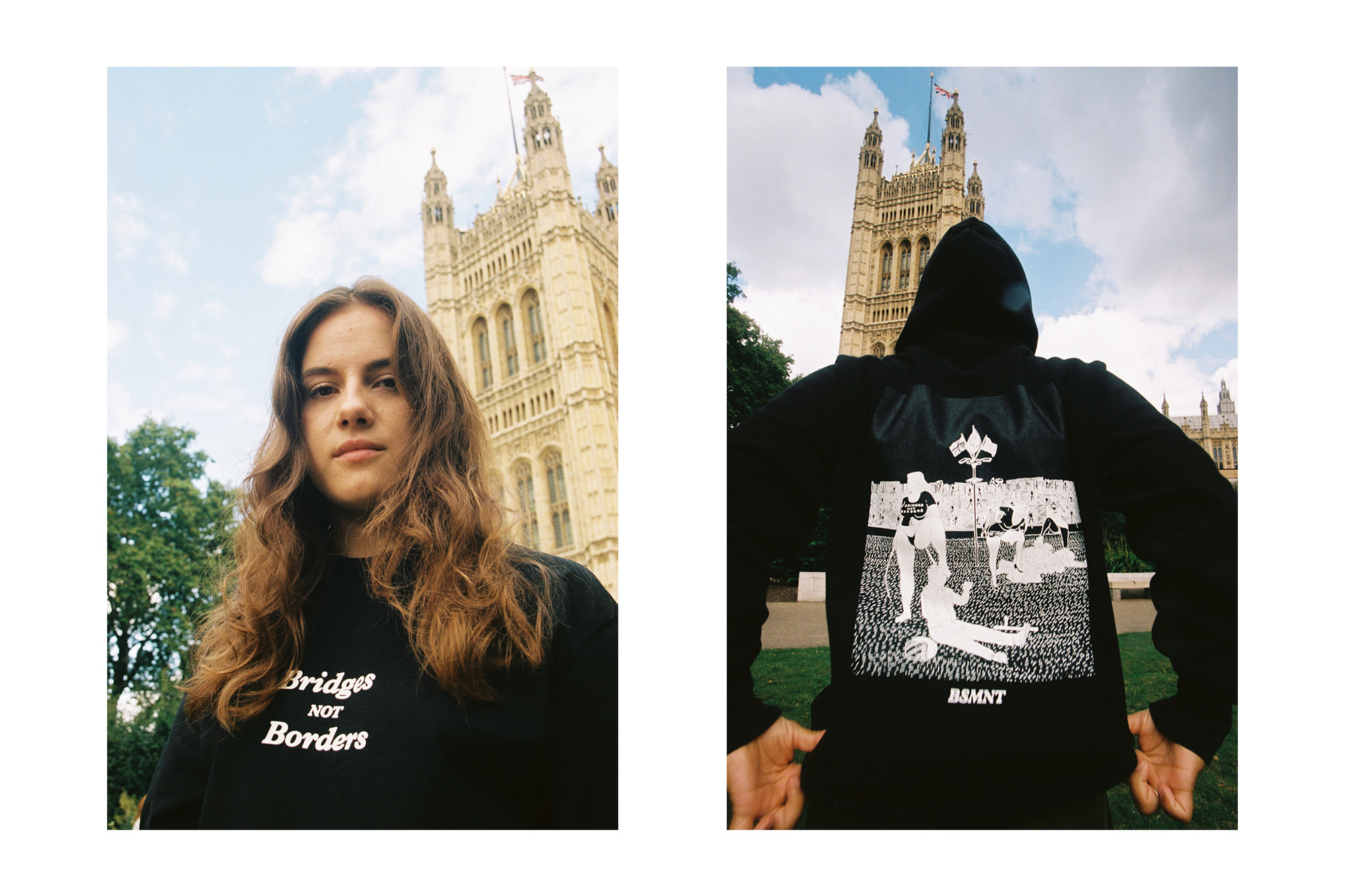The Basement Champion Unified Communities with the 'Bridges Not Borders' Capsule Collection