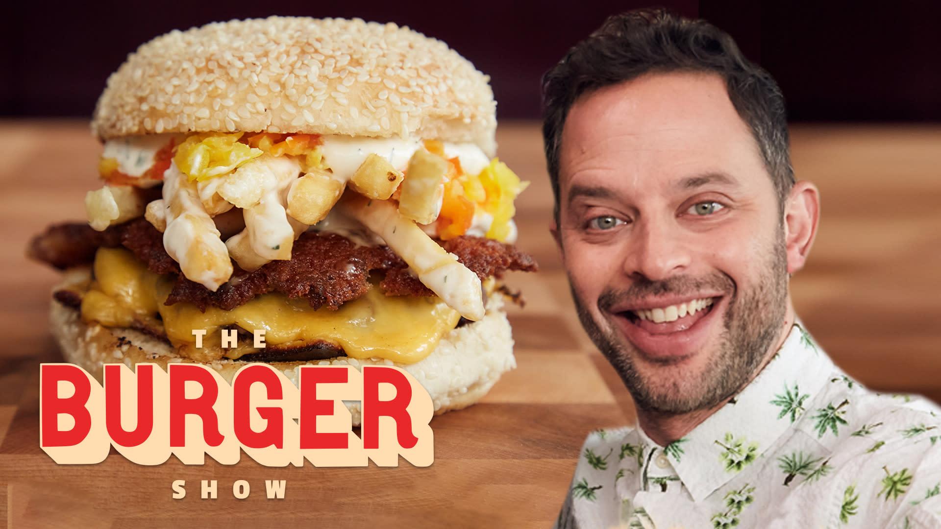 Nick Kroll's Ultimate Burger Taste-Test | The Burger Show