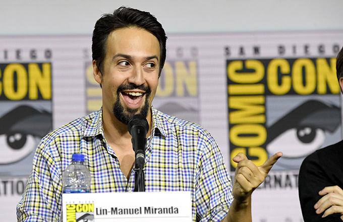 Lin-Manuel Miranda Went Undercover on the Comic-Con Floor as Deadpool