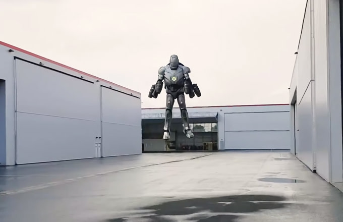 Adam Savage Built a Real Iron Man Suit That Actually Works