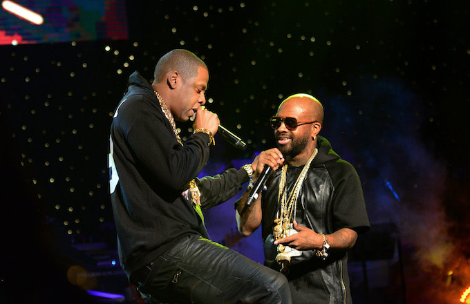 Jermaine Dupri Says JAY-Z Didn't Discourage Him From Working With NFL