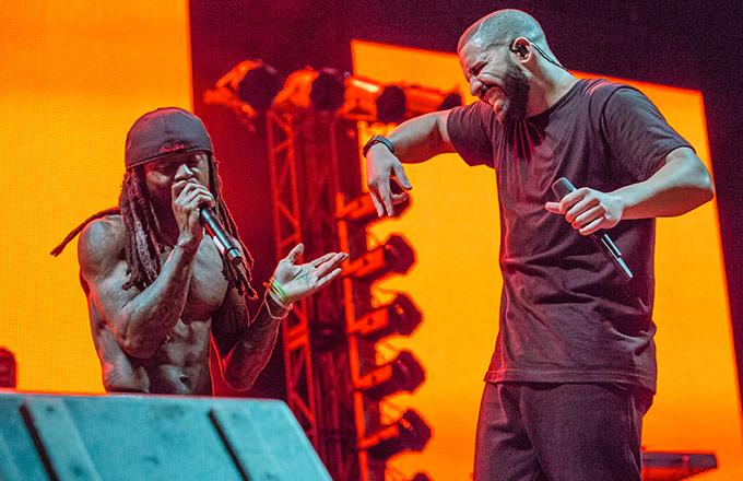 Lil Wayne Expresses Interest in Finally Making That Drake Collab Album