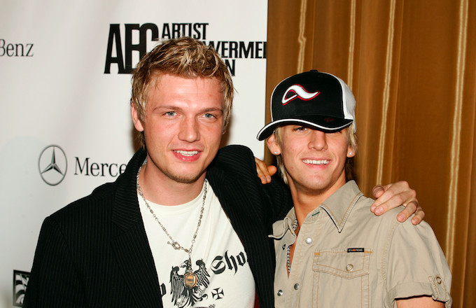 Nick Carter Accuses Aaron Carter of Threatening to Kill His Pregnant Wife