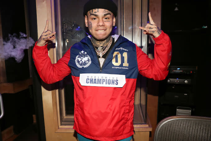 6ix9ine to Testify That His Role in Nine Trey Was to Make Money for the Gang