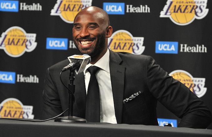 Kobe Bryant on Rob Pelinka's Heath Ledger Story: 'He Got Confused'