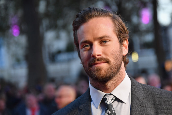 Armie Hammer Calls Out Marvel Executive for Being One of Trump's Biggest Donors