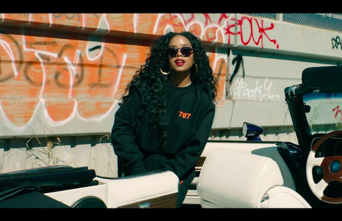 """Premiere: H.E.R. Puts on for the Bay Area in New """"Slide"""" Video f/ YG"""