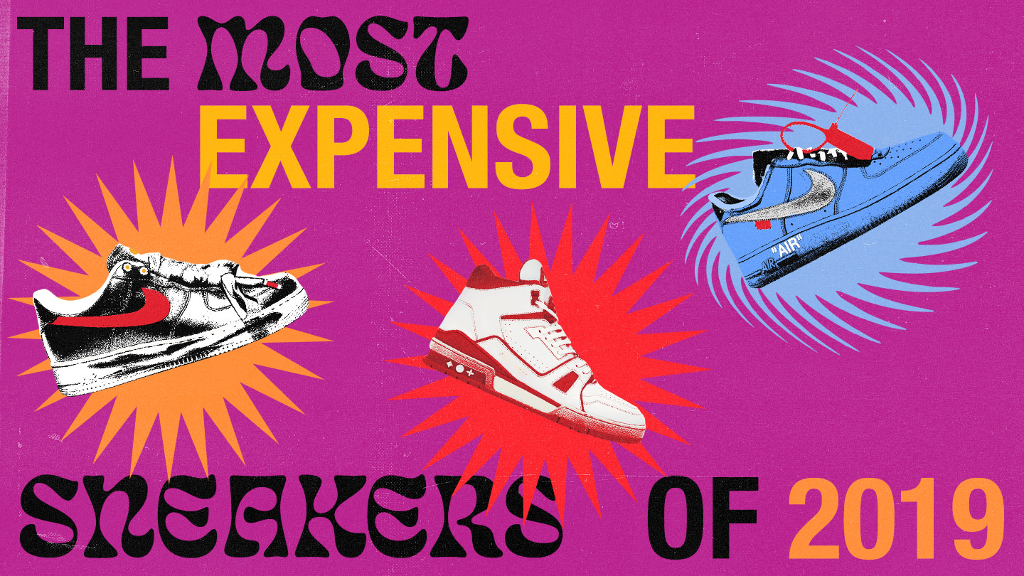 The Most Expensive Sneakers of 2019