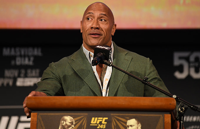 Dwayne Johnson Picked His Wrestling Mount Rushmore