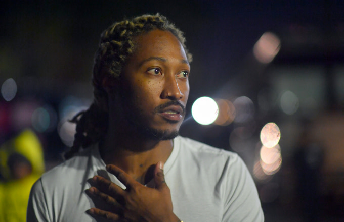 Another Woman Claims Future Is the Father of Her Child