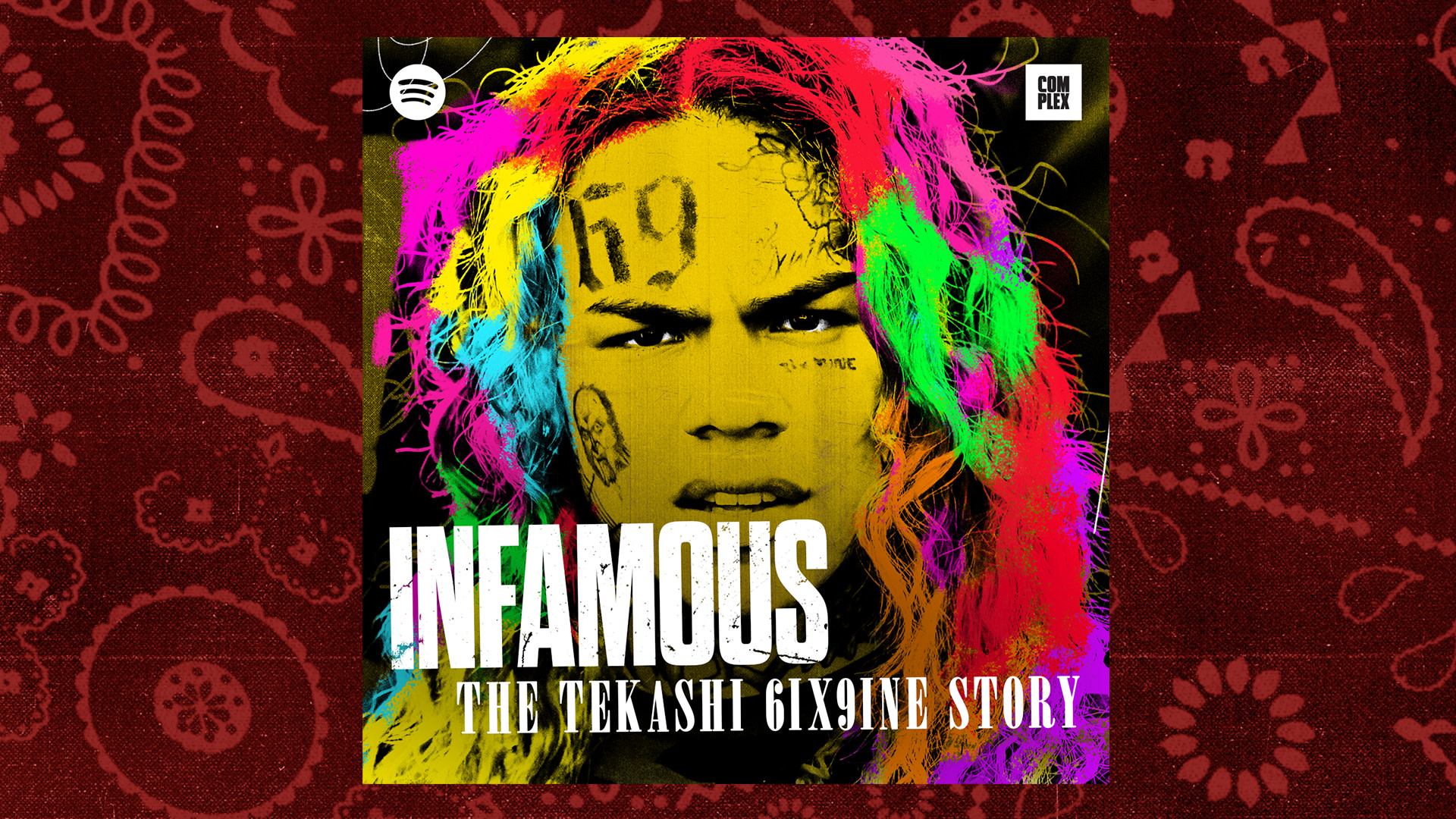 Listen to the Second Episode of 'Infamous: The Tekashi 6ix9ine Story'