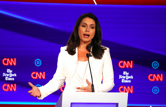 Tulsi Gabbard Files $50 Million Lawsuit Against Hillary Clinton Over 'Russian Asset' Comments