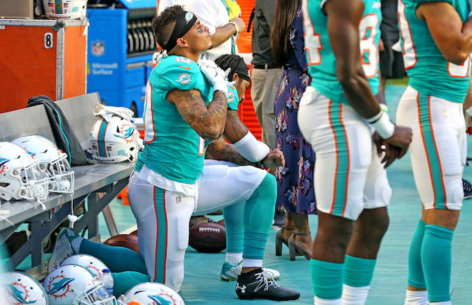 Kenny Stills on JAY-Z's 'We've Moved Past Kneeling' Stance: 'It Didn't Seem Very Informed'