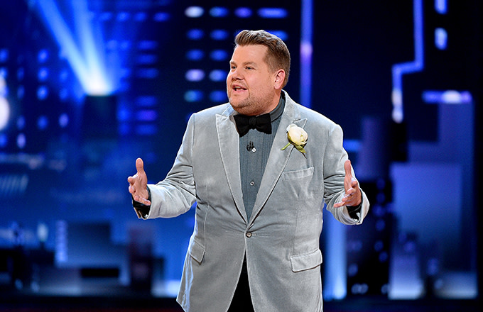 James Corden Takes Aim at Bill Maher for His Fat Shaming Comments