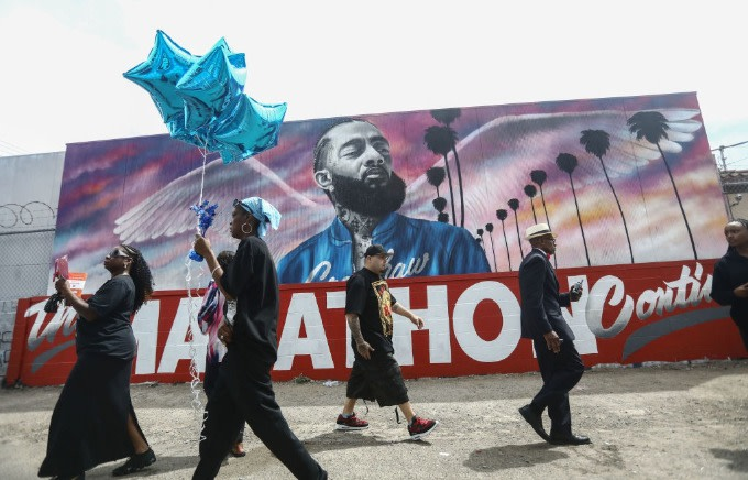 LAPD Reportedly Claims Nipsey Hussle 'Never a Target' in Gang Investigation