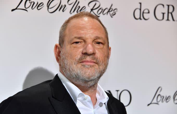 Harvey Weinstein Confronted at New York City Bar, Called a 'F*cking Rapist'