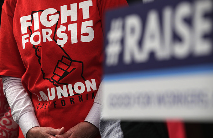 House Passes Bill to Raise Federal Minimum Wage to $15 Per Hour