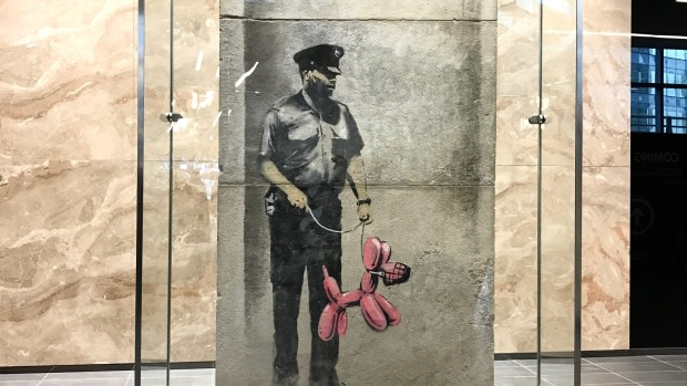 See How Banksy Artwork Was Restored in Toronto