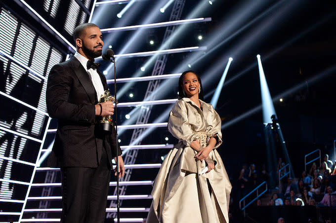 Drake Doesn't Actually Have a Tattoo of Rihanna's Face, But That Didn't Stop People From Believing It