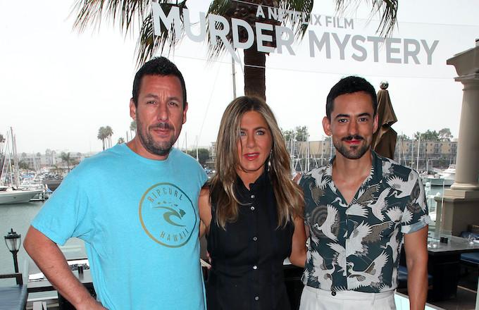 Adam Sandler's 'Murder Mystery' Film Reportedly Breaks Netflix Record