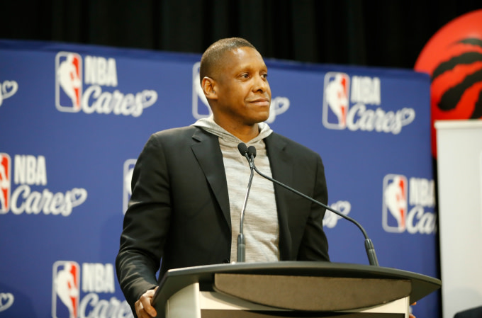 Masai Ujiri 'Never Struck' Officer at Oracle Arena According to Witness