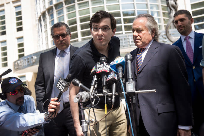 Federal Appeals Court Upholds Fraud Conviction of 'Pharma Bro' Martin Shkreli