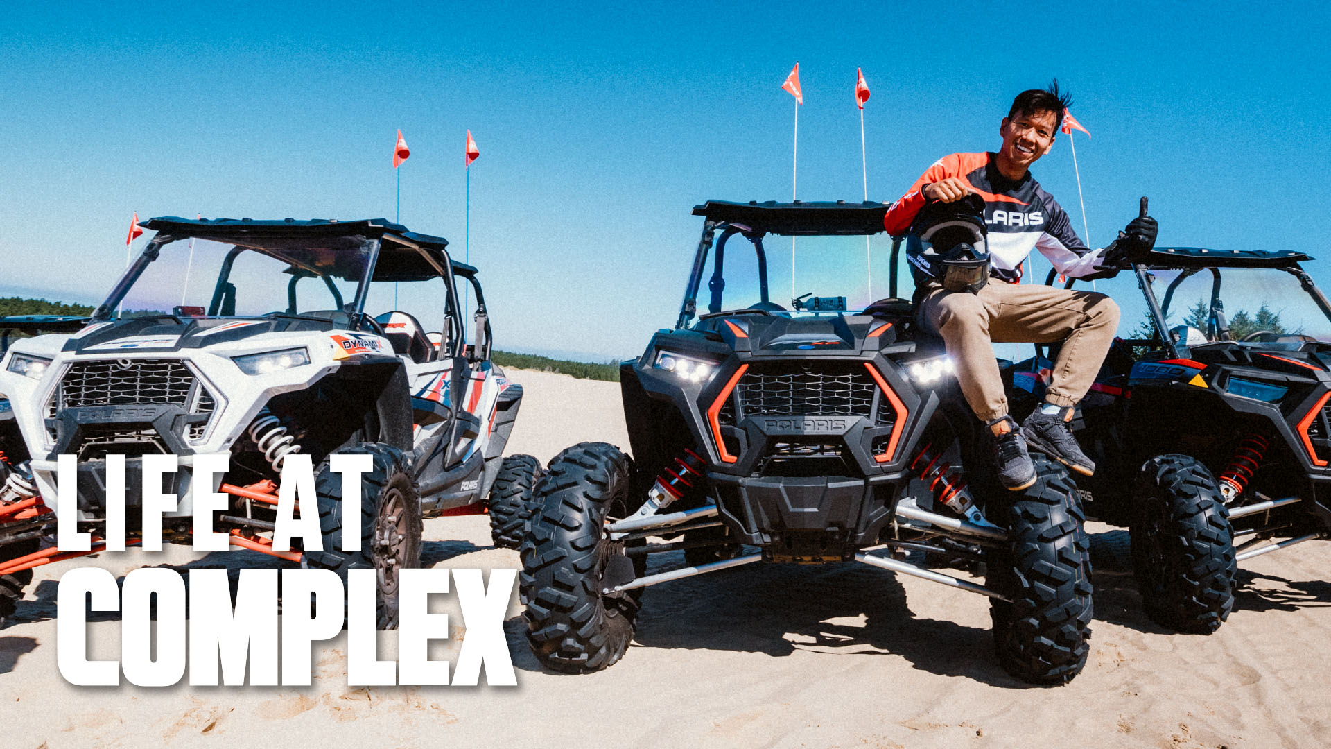 Test Driving Polaris Vehicles On Sand Dunes & Open Road! | Life At Complex