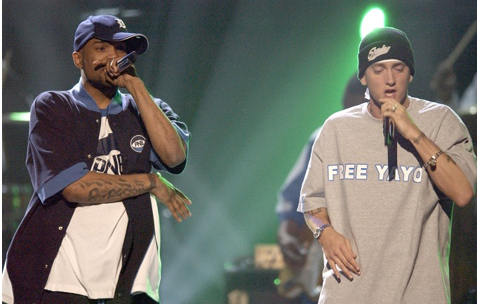 Hear a Previously Unreleased Freestyle From Eminem and Proof