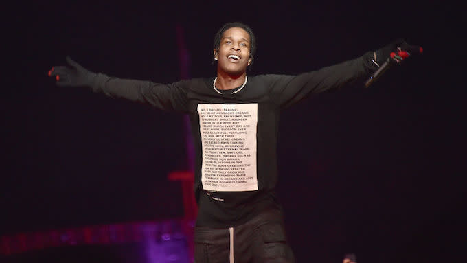 ASAP Rocky Says 'That Me N Travis Beef Sh*t So Played Out, Let It Go'