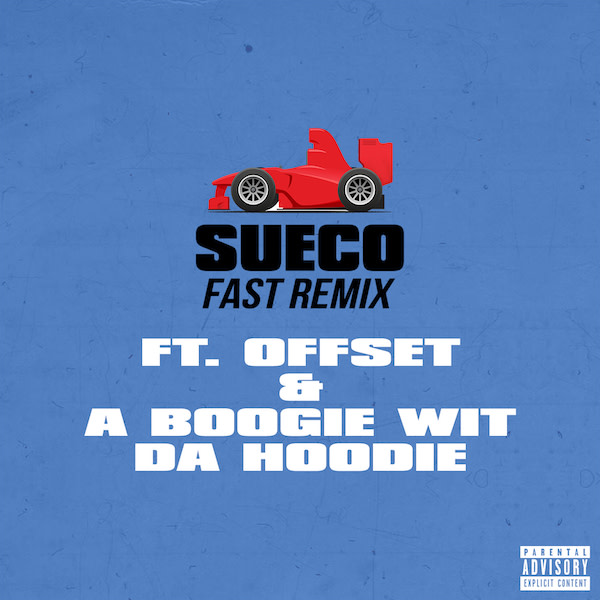 """Offset and A Boogie Wit Da Hoodie Hop on Sueco the Child's """"Fast"""""""