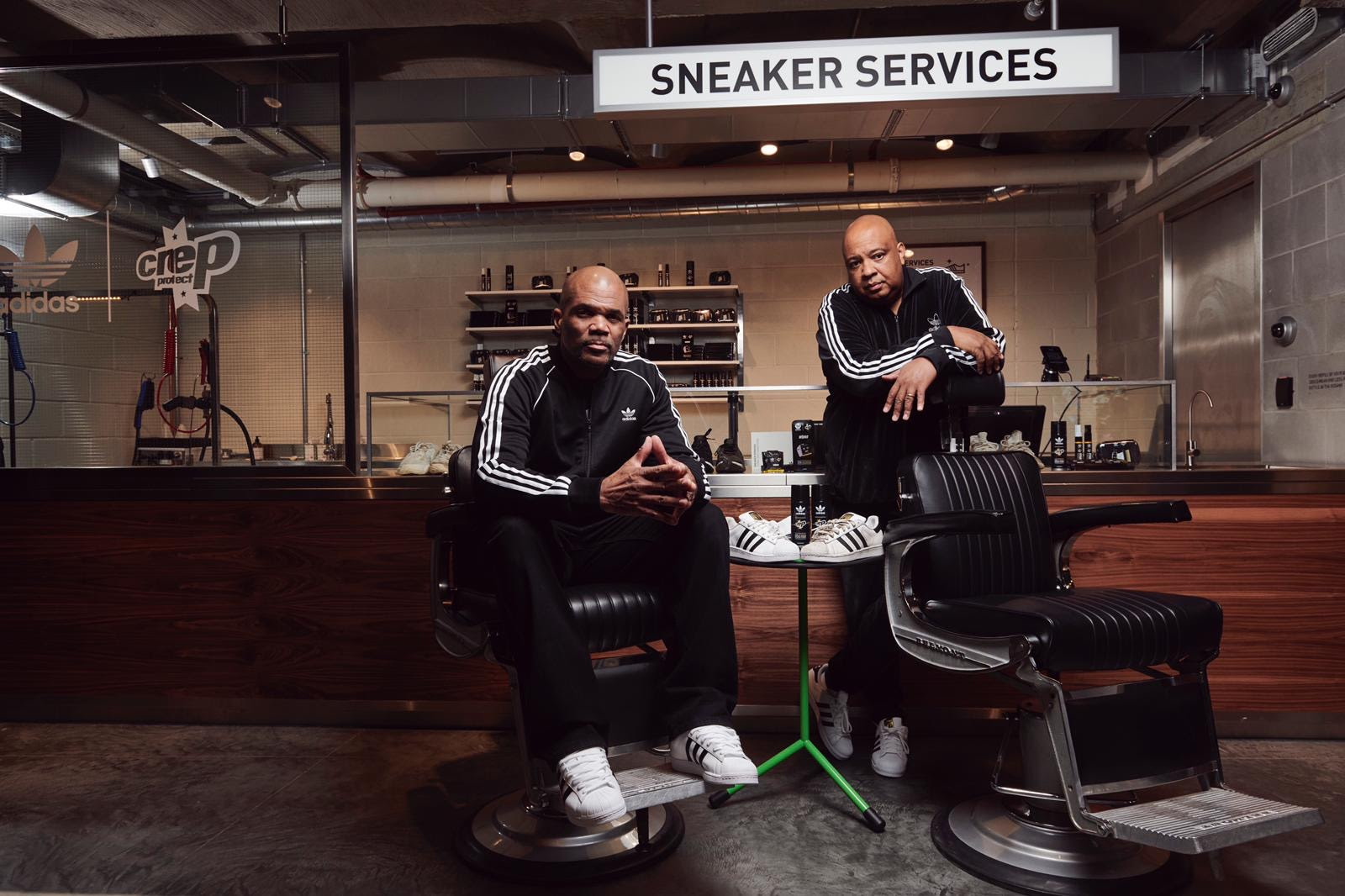 Crep Protect Links up with adidas Originals for a 'Sneaker Services' Space in Its New Oxford Street Store