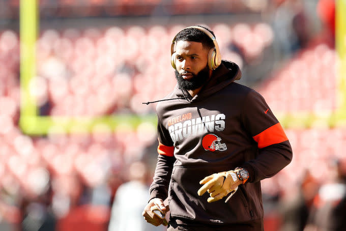 Browns General Manager Debunks Odell Beckham Jr. Trade Rumors: 'That's Fake News'