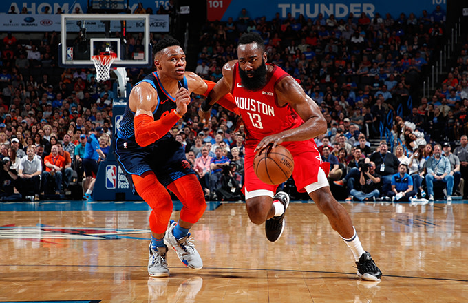 Haynes: James Harden Was Behind Russell Westbrook to Houston Deal, 'Wanted Chris Up Out of There'
