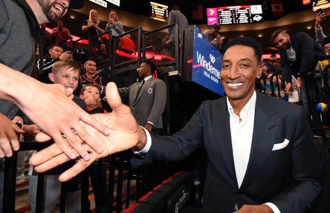 Scottie Pippen Explains Why He Wasn't in 'Space Jam'