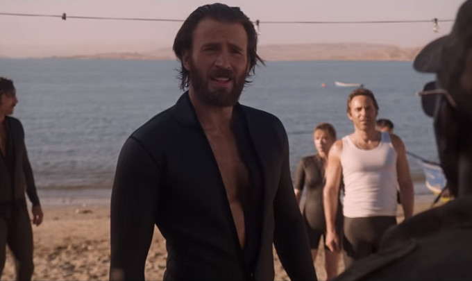 Watch Chris Evans and Michael K. Williams in New Trailer for Netflix's 'The Red Sea Diving Resort'