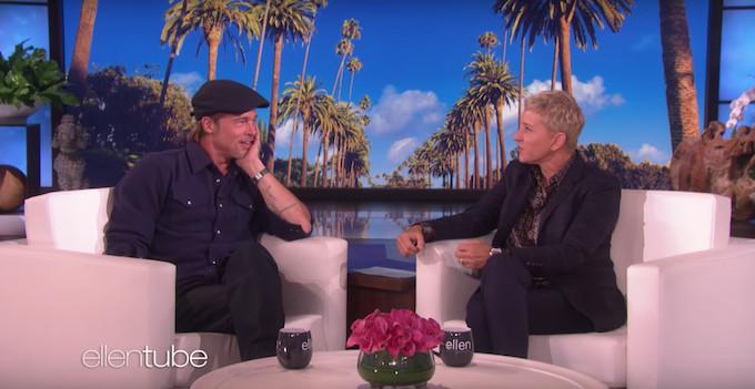 Ellen DeGeneres Tells Brad Pitt She Dated One of His Ex-Girlfriends