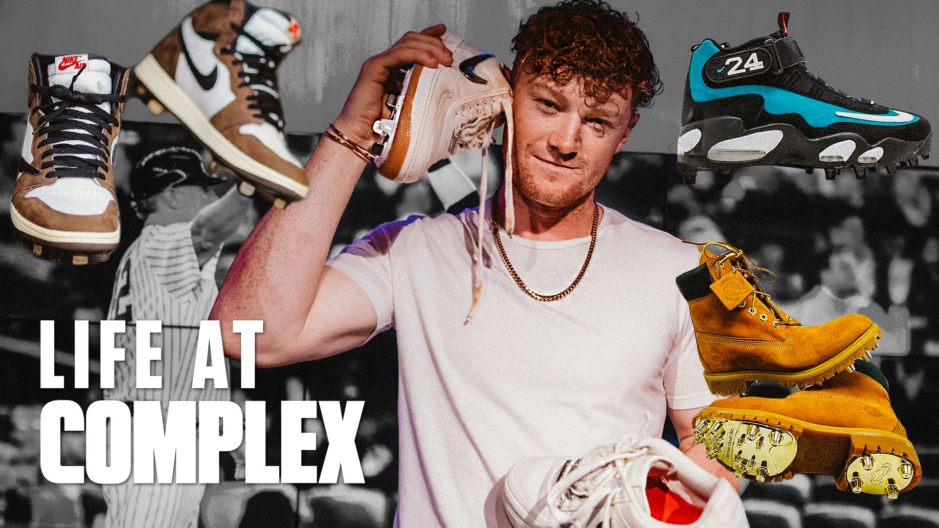 Clint Frazier Takes His Custom Baseball Cleats To Another Level! | Life At Complex