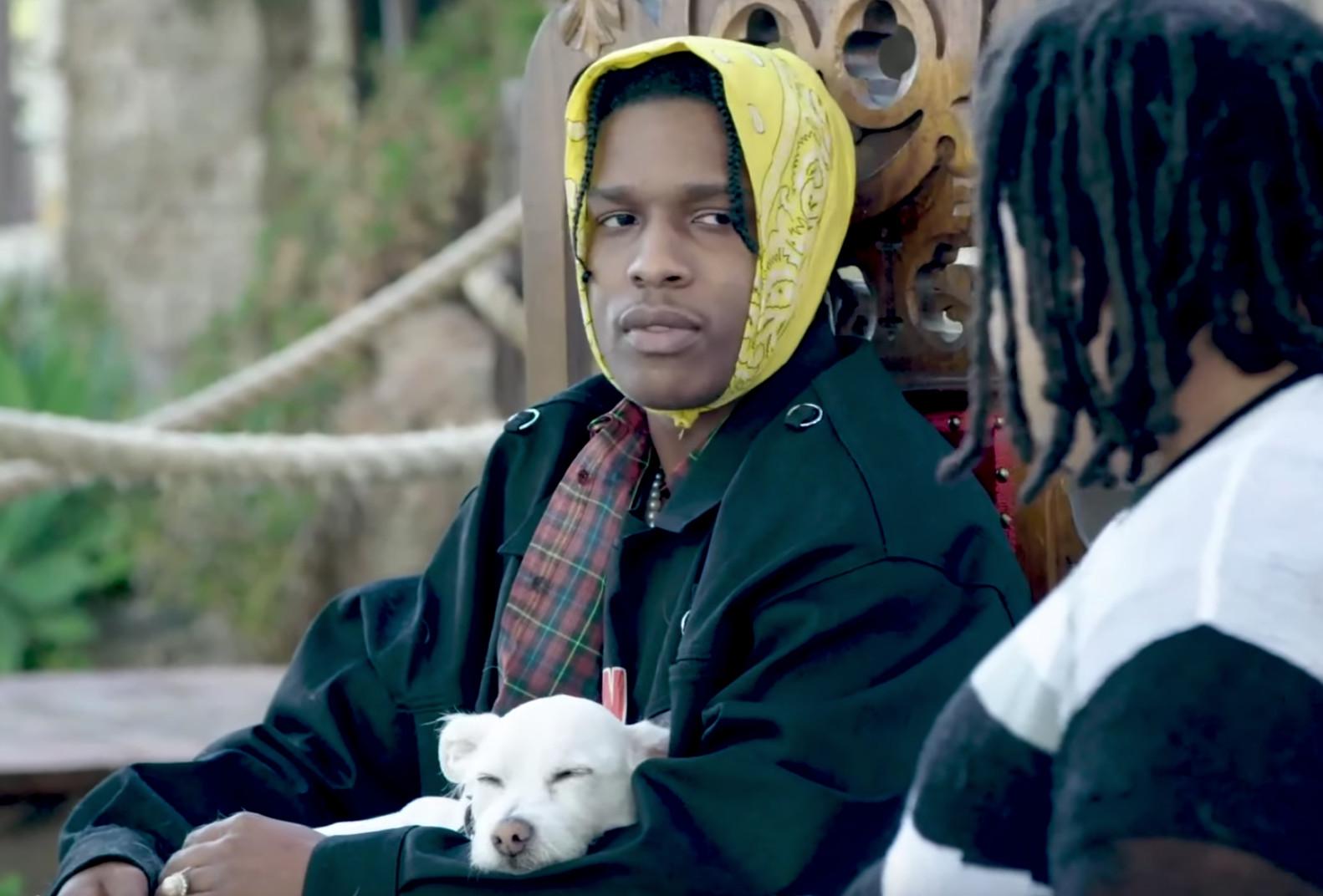 ASAP Rocky Breaks Down Twelvyy's Role in the Development of Virgil Abloh's Off-White