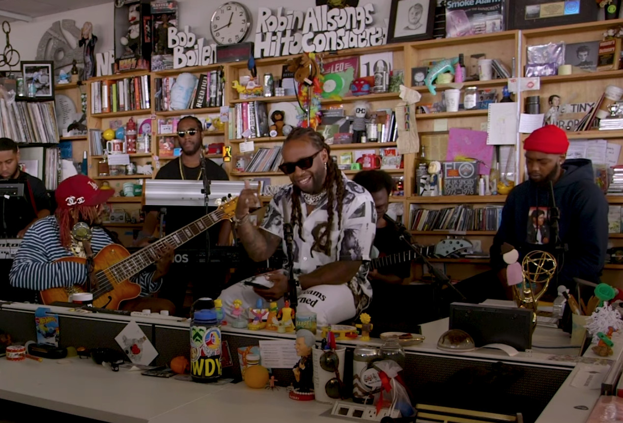 "Ty Dolla Sign Pays Tribute to Mac Miller With Special Tiny Desk Performance of ""Cinderella"""