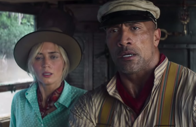 Dwayne Johnson and Emily Blunt Star in First Trailer for Disney's 'Jungle Cruise'